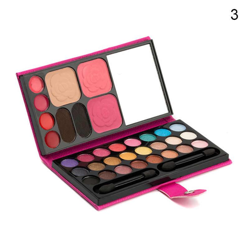 2019 חדש לגמרי באיכות גבוהה צלליות צבעים 33 צבעים לאורך זמן סומק שפתון גבות אבקת נייד עבור נשים