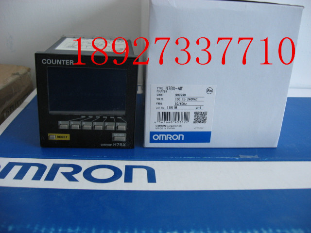 [ZOB] 100% brand new original authentic Omron omron digital counter H7BX-AW relay [zob] new original omron omron solid state relay g3na 290b utu 2 dc5 24