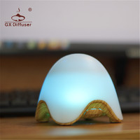 GX Diffuser Newest USB Chargeable 7 Changing Color LED Table Lamp Dimmer Desktop Decorative Desk Lamp