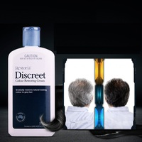 Australia Restoria Discreet Restores Hair Colour Cream 250ml Grey Hair Treatment Anti Dandruff Hair Conditioner Care Easy use