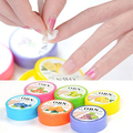 Item quente! 1 Box/32 Pcs Flor Sabor Nail Art Polonês Vanish Removedor Wet Wipes Papel Toalha