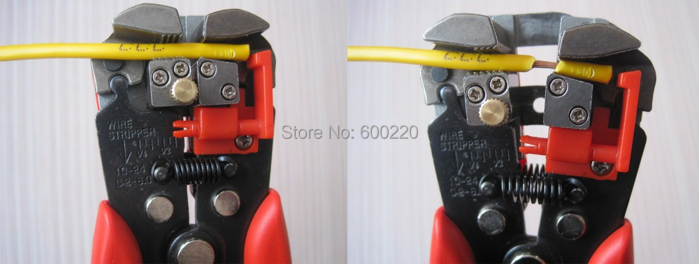multi function plier Automatic Cable Wire Stripper crimper plier Self Adjusting Crimper Terminal Cutter Tool two-colour handle