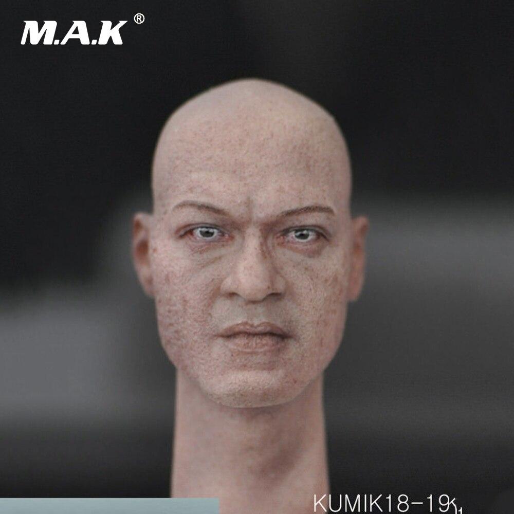 KUMIK18-14 1:6 Scale Figure Accessory Male Head Sculpt for 12'' Action Figure 12 inch 1 6 scale male head sculpt for 12 men action figure toys collections