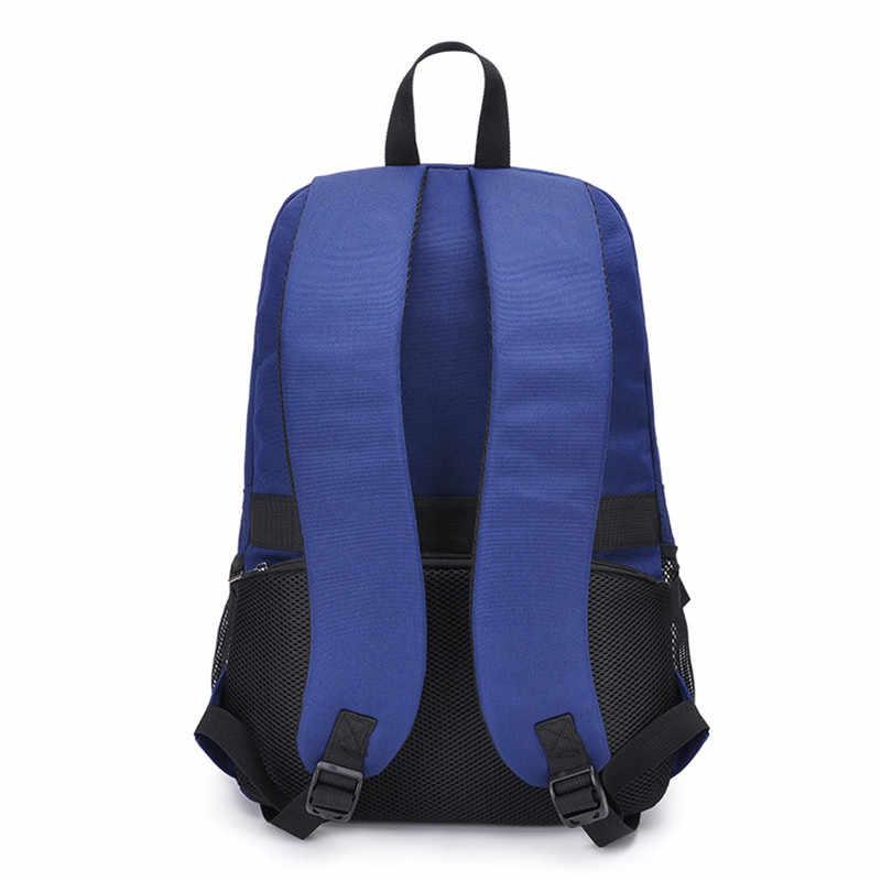 Mochila GRANDE para hombres y mujeres, mochila con diseño de auriculares USB, mochila con cierre de llave, bolsa para ordenador portátil para niños y niñas bolsas