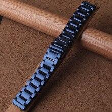 20 мм/22 мм/польский Нержавеющаясталь Band для samsung Шестерни спортивные S2 S3 Galaxy 42 мм 46 ремешок для часов, мм металлический браслет синий ремешок для часов