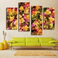 Zdjęcia dekoracji kwiat wall art reprodukcji na płótnie druk powiesić na salonie