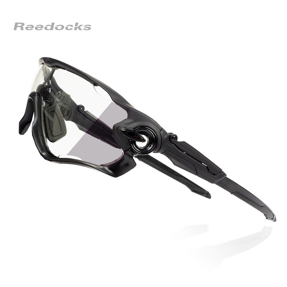 Reedocks Fotocromatiche Ciclismo Eyewear di Sport Della Bicicletta Occhiali Uomini Donne Equitazione Pesca Occhiali Ciclismo Occhiali Da Sole Bici Accessori