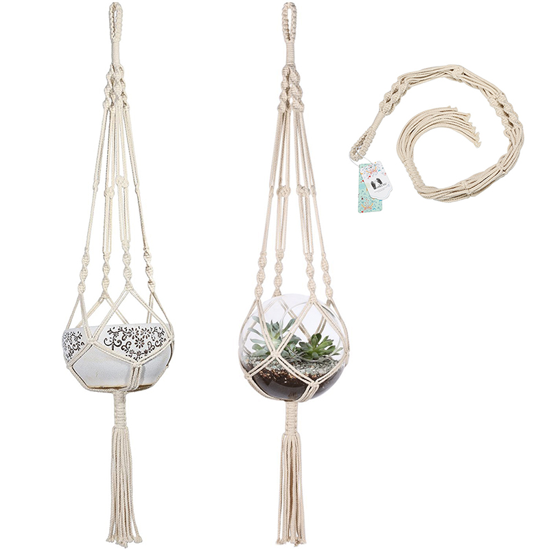 macrame plant hanger for sale aliexpress buy macrame plant hanger hanging planter 1745