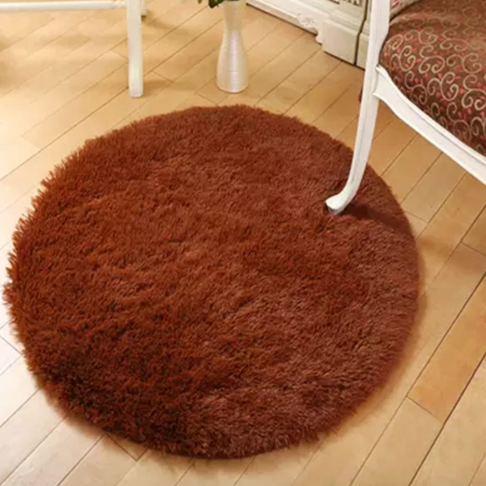 Shaggy Fluffy Dining Rugs Carpet Anti-skid Bedroom Computer Chair Mat Yoga Mat Machine Washable Footcloth Bc02c Replacement Batteries