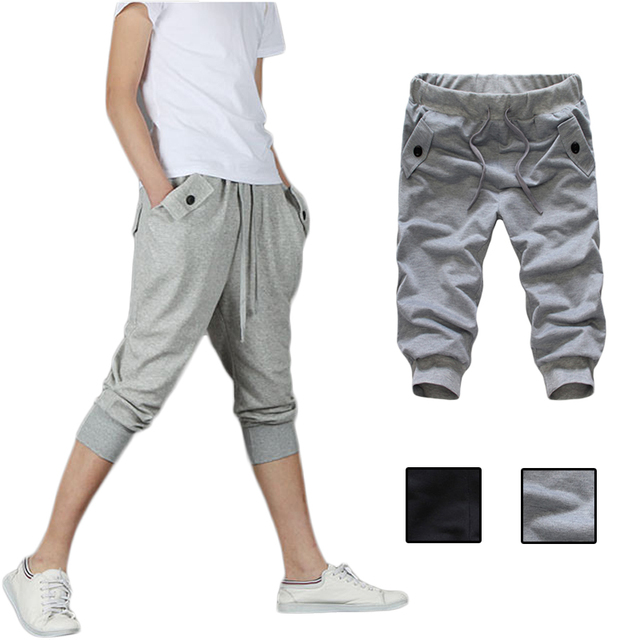 bfeea7c7075 New summer pants male feet Harlan camouflage Loose pants men Korean version  of trend Trousers 1Pcs
