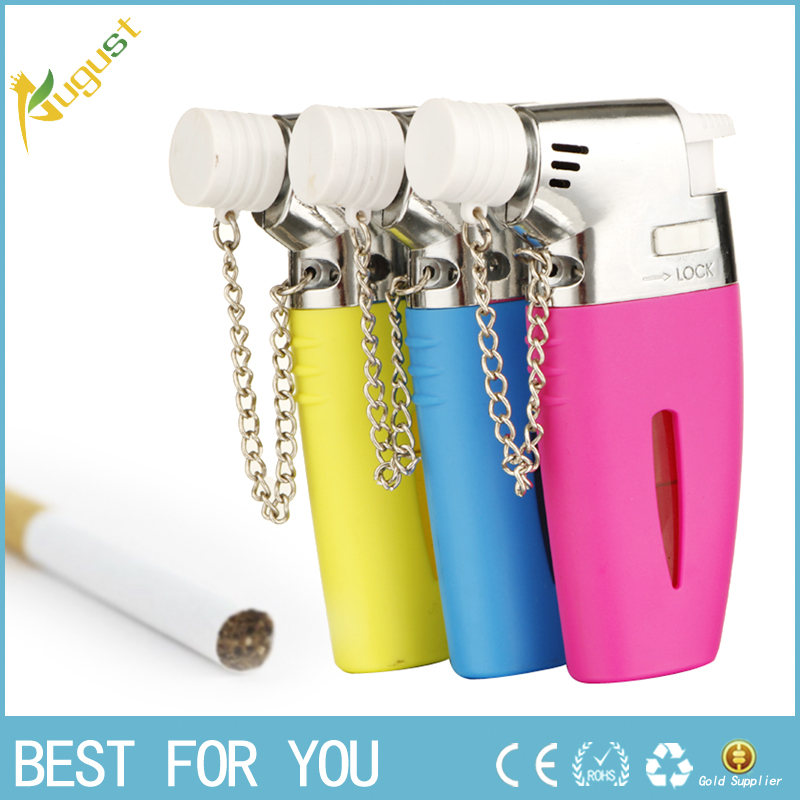 50pcs/lot hot selling Refillable butane gas lighter jet lighter Torch Butane lighters...