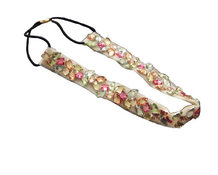 Joura Vintage Bohemian etnisko krāsu pērlītes ar rokām darinātas - Apģērba piederumi