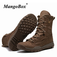 Army Military Combat Boots For Men Tactical Boots Black Brown Male Desert Boots High Quality Trekking Military Shoes Outdoor