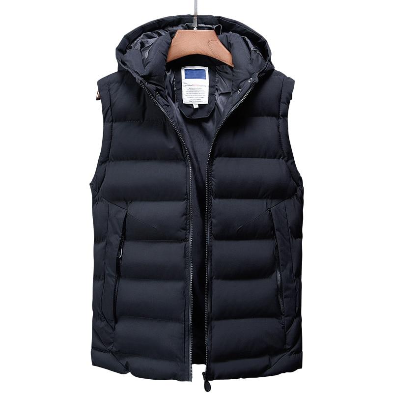canada fashion vest men casual mens down jacket korean streetwear clothing overcoat dress male trench autumn winter coat for men