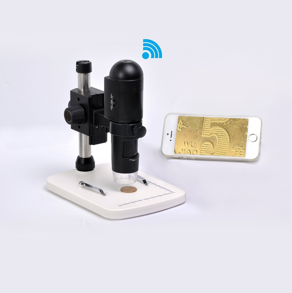 720P HD Wifi Digital Microscope camera for iOS/Android/PC
