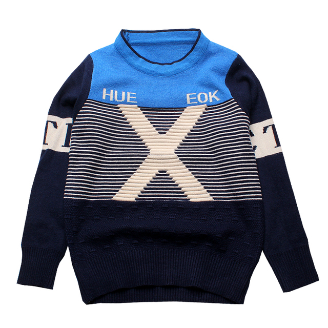 Boys Sweaters And Pullovers Boys Children Knitted Kids Sweaters Free ...