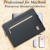 WIWU Laptop Bag For Macbook Pro 13 15 Air 13 Waterproof Nylon Notebook Bag 14 For