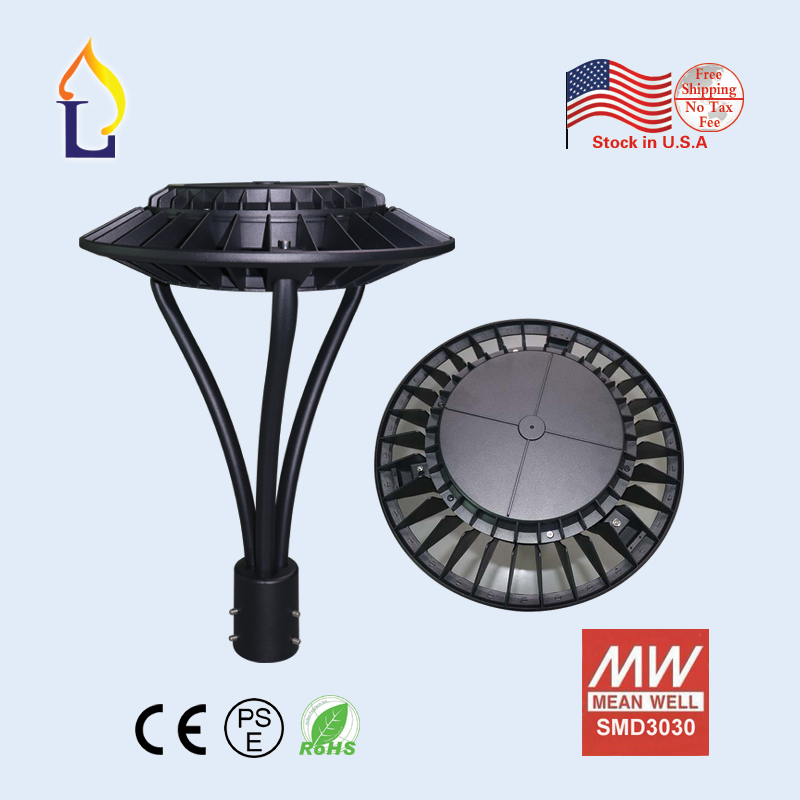 1pcs/lot Free Shipping 150W led Area light for replacement CE ROHS/ETL listed garden lamp 100-277VAC LED Circular Area Lights free shipping d008 1pcs lot 100