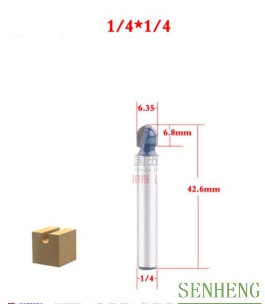 1 Stück 1/4x1/4 6,35mm Carving Box Bit Trimmen Bit Holzverarbeitung Cnc-fräser Bits Fabriken Und Minen