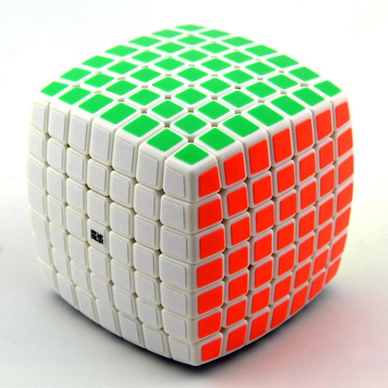 Cube professionnel 7x7x7 7.2 cm vitesse pour cubes magiques antistress puzzle néo Cubo Magico autocollant pour enfants jouets éducatifs pour adultes