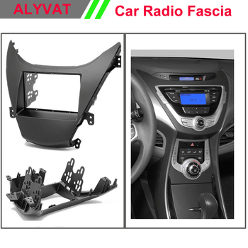 Car DVD Stereo Radio Fascia Plate Panel Frame Kit For HYUNDAI Elantra,Avante Stereo Fascia Dash CD Trim Installation Kit