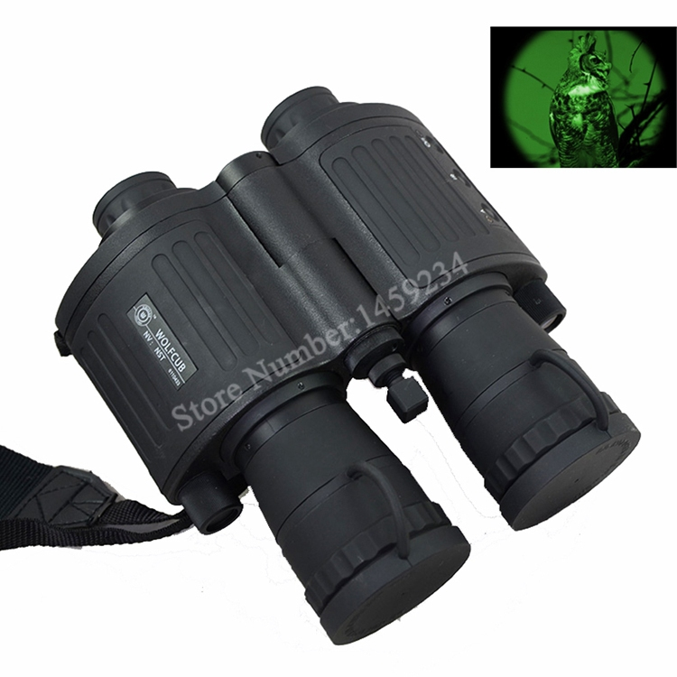 night scouts 5x Gen1 Full darkness zoom 5X Night Scout Infrared Vision Binoculars Telescope #NS-550