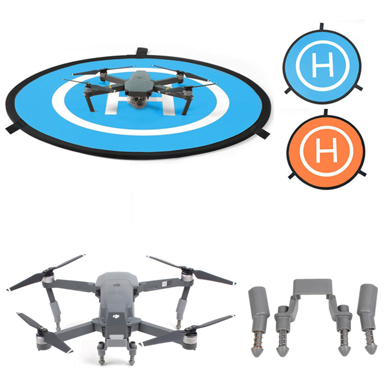 750mm Mini Landing Pad Tarmac Parking Apron Launch Pad Quadcopter with Heightened Landing Gear 3CM for DJI MAVIC PRO RC Drone