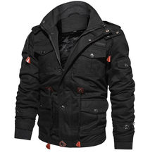 2020 New Arrival Mens Winter Fleece Jackets Warm Hooded Coat Thermal Thick Outerwear Male Military Jacket Mens Brand Clothing
