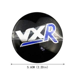 Image 5 - 56mm 3D מרכז גלגל רכב כיסוי מדבקה עבור ווקסהול אסטרה H J Zafira Antara Mokka Insignia Maloo עבור VXR לוגו אוטומטי רכזת תג