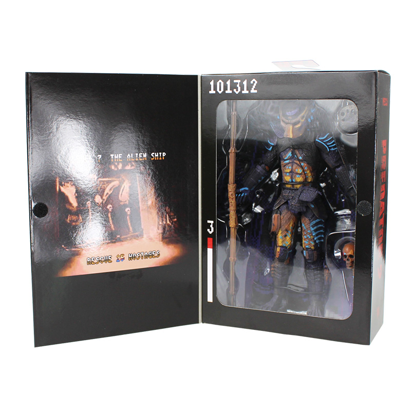 4Pcs/Lot NECA PVC Predator 2 Action Figure Toy Dolls Collectible Model Doll Classic Toys Great Gift With Box 18CM Great Gift soccer figurine football stars competition classic brazil cup world cup model toy action figure ornament dolls collectible gift