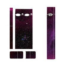 Pure Star Sky Sticker Vape Cover Stickers Suitable For JUUL 2.5D Stereo Film Skin 3M Adhesive for JUUL Skin Sticker(China)