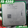 AMD FX 4300 AM3+ 3.8GHz/4MB/95W Quad Core CPU processor FX serial pieces FX-4300 (working 100% Free Shipping) sell fx 4100 4200
