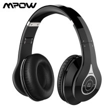 Mpow 059 Bluetooth Headset Foldable Headband Headphones Wireless Headset With Mic Noise Cancelling Stereo For PC