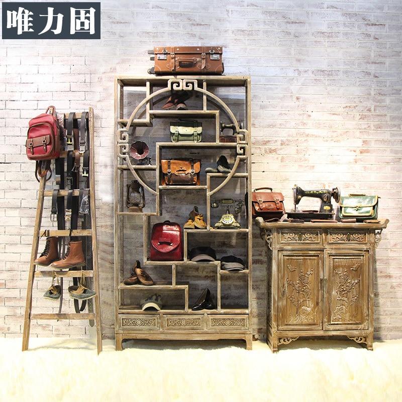 Weili sólido derecho americano para hacer viejos de madera tienda de ...