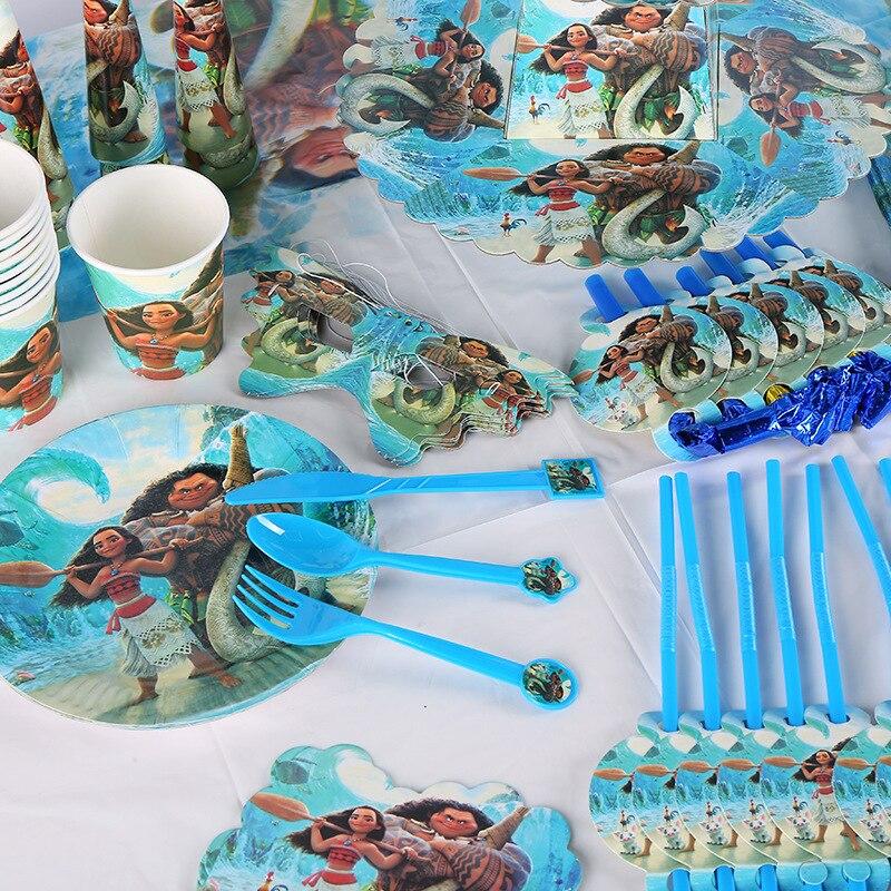 Disney Moana Tazas De Fiesta De Cumpleaños Elija Cantidad