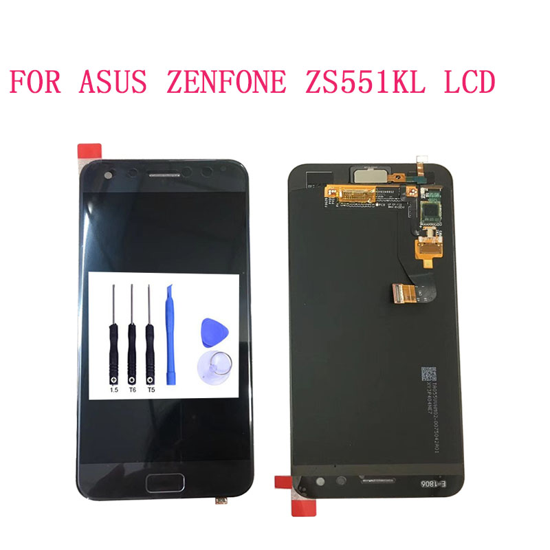 SZHAIYU For ASUS ZenFone 4 Pro ZS551KL LCD Display + Touch Screen Digitizer Assembly Replacement For 5.5 With ToolsSZHAIYU For ASUS ZenFone 4 Pro ZS551KL LCD Display + Touch Screen Digitizer Assembly Replacement For 5.5 With Tools