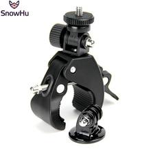 Gopro Accessories Bike Bicycle/Motorcycle Handlebar Handle Bar Camera Mount+Tripod Adapter For Gopro Hero4 3 sj4000 sjcam GP73