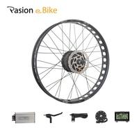 PASION E BIKE 48V 1000W Electric Bicycle Fat Bike Conversion Kit 26 Wheel Motor for 190mm Brushless Gear Hub Motor Waterproof