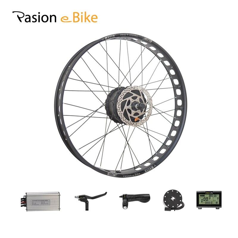 PASION E VÉLO 48 V 1000 W Vélo Électrique Graisse Vélo Conversion Kit 26