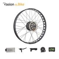 Pasion Ebike 48 В 1000 Вт Электрический Велосипед Жира Велосипед Conversion Kit 26 Колеса Двигатель для 175 мм или 190 мм Концентратор Мотор