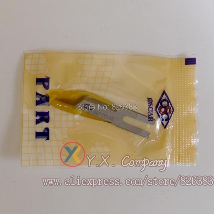 1 piece Knife(Right)  for Juki APW896 Automatic Lockstitch Welting Machine part number is 40026155