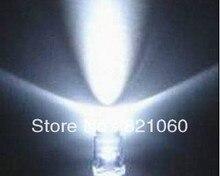100pcs 5MM led diode Transparent irradiate White high brightness F5MM emitting tube/LED emitting diodes F5