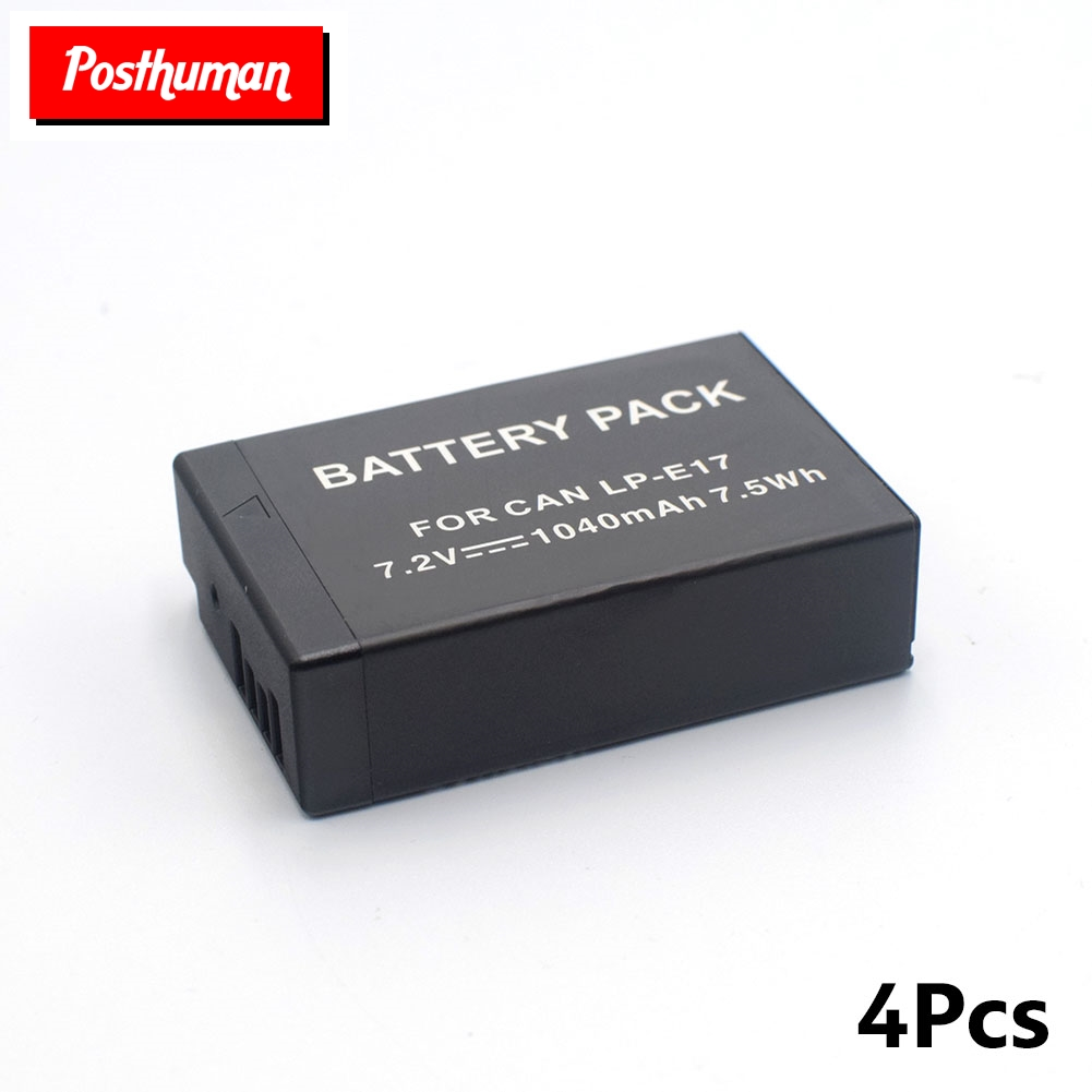 LP-E17 7.2V 1040mAh Lithium Polymer Rechargeable Battery Pack SLR EOS 200D 750D 760D 800D For Canon Batteries Bateria