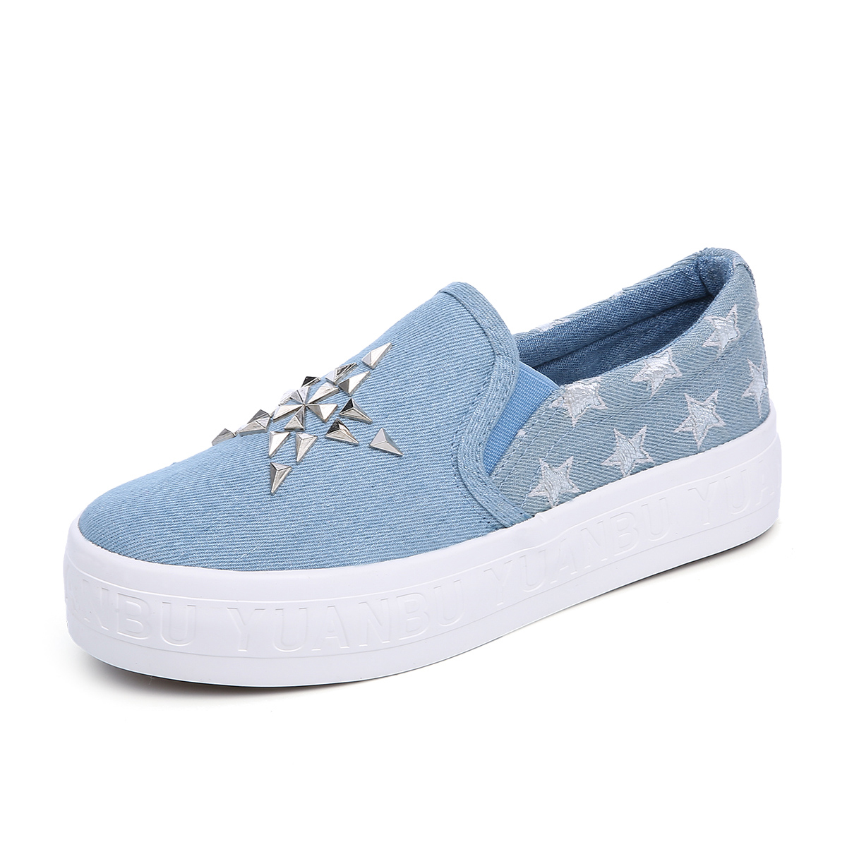 LuxuryBrand Shoes 2018 Summer Fashion Trend, Canvas Shoes, Foot Protection, Fresh And Refined Womens Shoes.