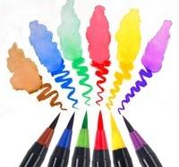 20 Color Set Writing Brush Soft Pen Water Color Art Marker Pen Effect Best For Adult