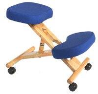 Эргономичный ортопедическое кресло с Кастер табурет Вуд офисные положения Поддержка мебель эргономичная деревянный стул балансировка тел