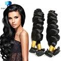 12A Cheap Brazilian Human Hair Extensions Loose Wave 3 Bundles Natural Black Ali Brazilian Virgin Queen Hair Tissage Bresilienne