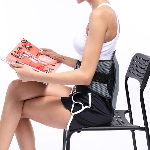 Lumbar Back Spinal Spine Waist Brace Support Belt Corset Stabilizer Cincher Tummy Trimmer Trainer Weight Loss Slimming 1