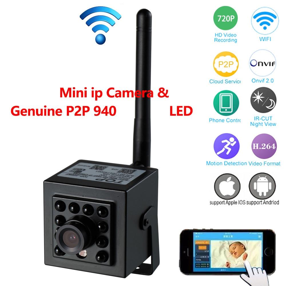 LED Not Red Darkness Night Vision IP Camera HD720P Wifi Camera Baby Monitor P2P Cloud Camera