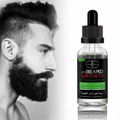 Friendly New Professional Men Beard Growth Enhancer Facial Nutrition Moustache Grow Beard Shaping Tool Beard Care Products Quality First Hair Care & Styling Beauty & Health